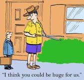 我认为您可能是巨大的为我们 向量例证
