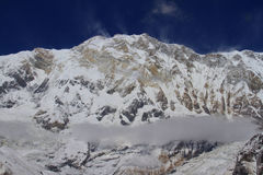我锐化的Annapurna 免版税库存照片