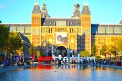 我阿姆斯特丹标志 库存照片