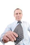 我领带抽搐 免版税库存图片