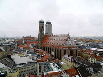 我们亲爱的夫人大教堂,慕尼黑 库存图片