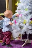 我们帮助对圣诞老人! 免版税库存照片