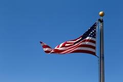 我们旗子 库存图片