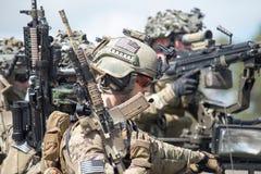 我们海军陆战队员 免版税库存照片