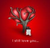 我仍然爱您 库存照片