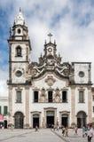 我们的卡尔穆大教堂累西腓巴西的夫人 库存图片