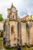 我们的卡尔达斯队的da Rainha,葡萄牙夫人Populace教会  免版税库存照片
