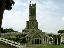 我们的卢尔德洞穴教会,圣何塞del Monte,布拉干省的夫人 免版税库存图片