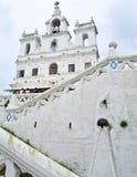我们的圣母无染原罪瞻礼教会,果阿的夫人 库存图片
