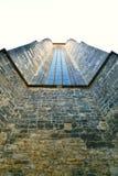 我们的在Tyn前的夫人,窗口特写镜头教会  免版税库存照片