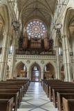 我们的夫人和圣菲利普霍华德阿伦德尔,西萨塞克斯郡大教堂教会  图库摄影