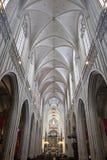 我们的夫人大教堂在安特卫普 库存照片