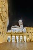 我们的夫人大教堂在Trastevere在罗马,意大利 免版税库存图片