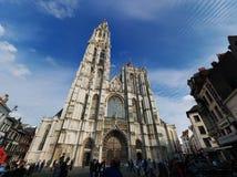 我们的夫人大教堂-很巨大的神色 图库摄影