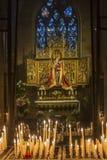 我们的夫人大教堂-马斯特里赫特-荷兰 免版税图库摄影