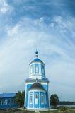 我们的夫人寺庙在特维尔地区白色镇  库存图片