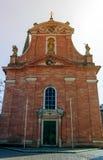 我们的夫人教会在阿沙芬堡,巴伐利亚,德国 库存图片