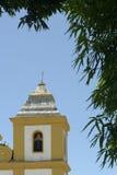 我们的帮助的夫人教会在Arraial d'Ajuda巴伊亚的 免版税库存照片
