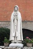 我们的法蒂玛-帕多瓦,纽约圣安东尼寺庙教会的夫人  免版税库存照片