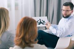 我们的疗法可能帮助您 免版税库存图片