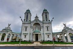 我们的胜利大教堂- Lackawanna, NY的夫人 免版税库存图片