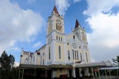 我们的补偿大教堂的夫人在碧瑶市 免版税图库摄影