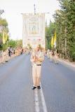 我们的迦密山游行的夫人,海法 免版税库存照片
