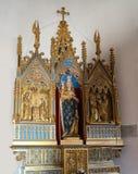 我们的阿伯丁的夫人在圣皮特圣徒・彼得的教会, Castlegate,阿伯丁, 免版税库存图片