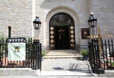 我们的黎巴嫩马龙派宽容大教堂的夫人在布鲁克林Heights 免版税库存照片