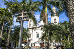 我们的巴西教会的夫人 免版税图库摄影