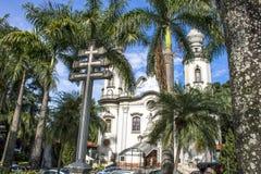 我们的巴西教会的夫人 库存图片