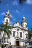 我们的巴西教会的夫人 库存照片