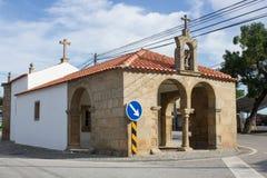我们的Graça偏僻寺院的夫人Idanha新星的,布朗库堡,贝拉Baixa, Portugall 库存图片