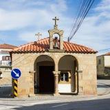我们的Graça偏僻寺院的夫人Idanha新星的,布朗库堡,贝拉Baixa, Portugall 免版税图库摄影