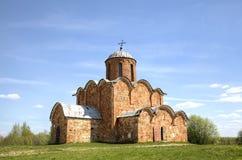 我们的Kovalyovo的救主的变貌的教会 免版税库存照片