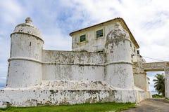 我们的Monte Serrat的夫人堡垒  免版税图库摄影