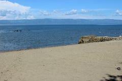 我们自己的芳香海滩 免版税图库摄影