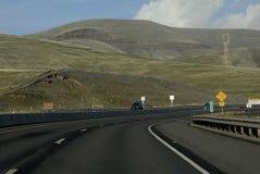 我们高速公路95和195 库存图片