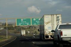 我们高速公路95和195 免版税库存照片