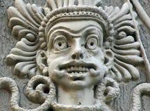 战争之神在古老宗教的东方(片段) 库存图片