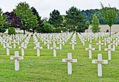 战争军事公墓1914-1918 图库摄影