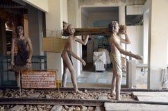 战争博物馆在北碧,泰国 免版税图库摄影