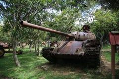 战争博物馆柬埔寨-坦克 图库摄影