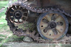 战争博物馆柬埔寨-坦克 免版税图库摄影