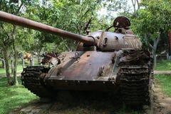 战争博物馆柬埔寨-坦克 免版税库存图片