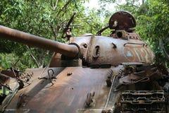 战争博物馆柬埔寨-坦克 免版税库存照片