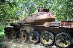 战争博物馆柬埔寨-坦克 库存图片