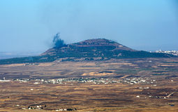 战争在叙利亚 免版税库存照片