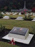 战争坟墓在日本 库存图片