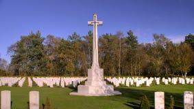 战争坟墓 库存图片